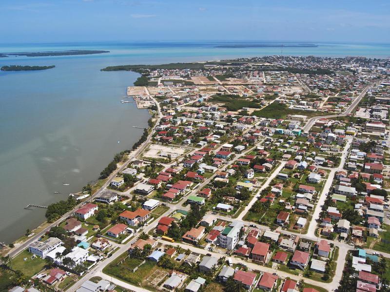 Belize City Aerial