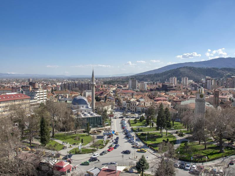 Clock Tower located in the center of Bitola