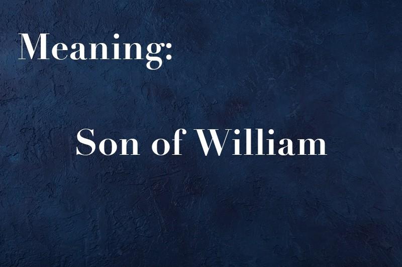 Son of William