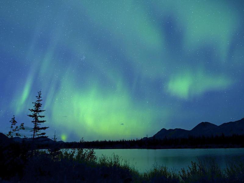 Northern Lights, Aurora Borealis, Alaska