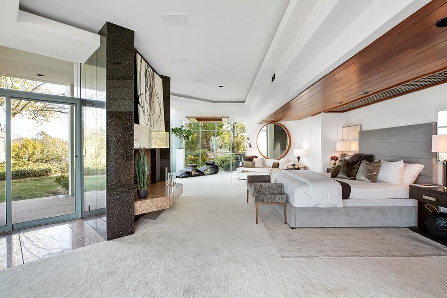 Pharrell Williams' master bedroom
