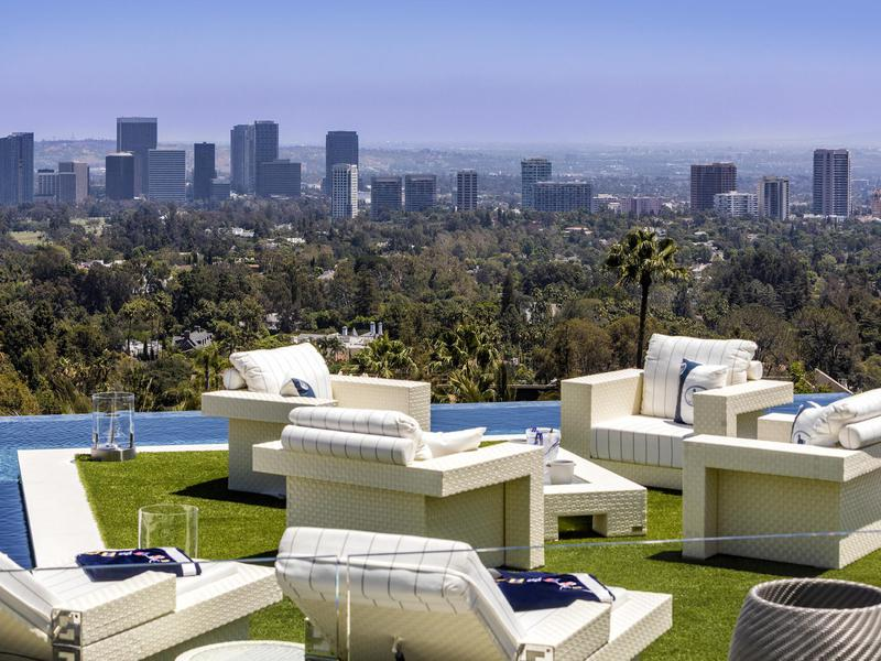 View from Bel Air