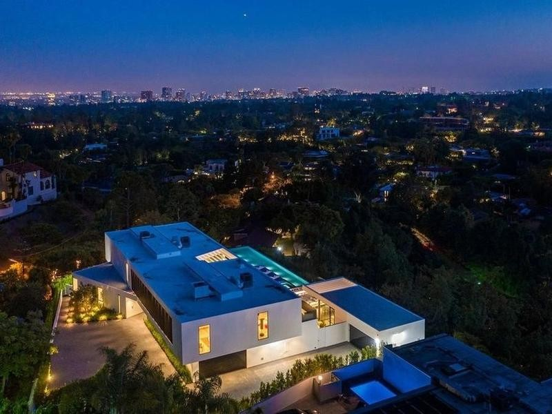 Beverly Hills at night