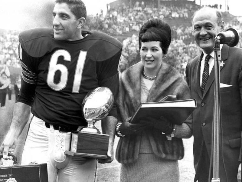 Chicago Bears Linebacker Bill George