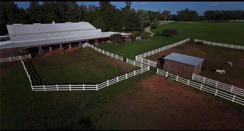 Kyle Petty's farm