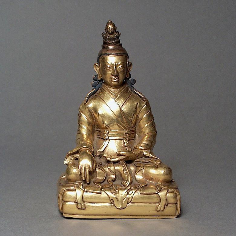 Songsten Gampo statue