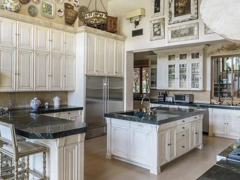 Sugar Ray Leonard's kitchen
