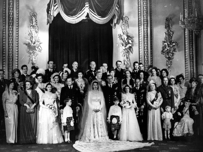 Royal wedding of Elizabeth II