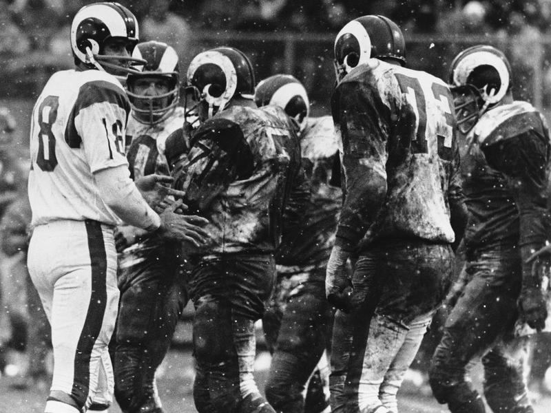Rams Helmets