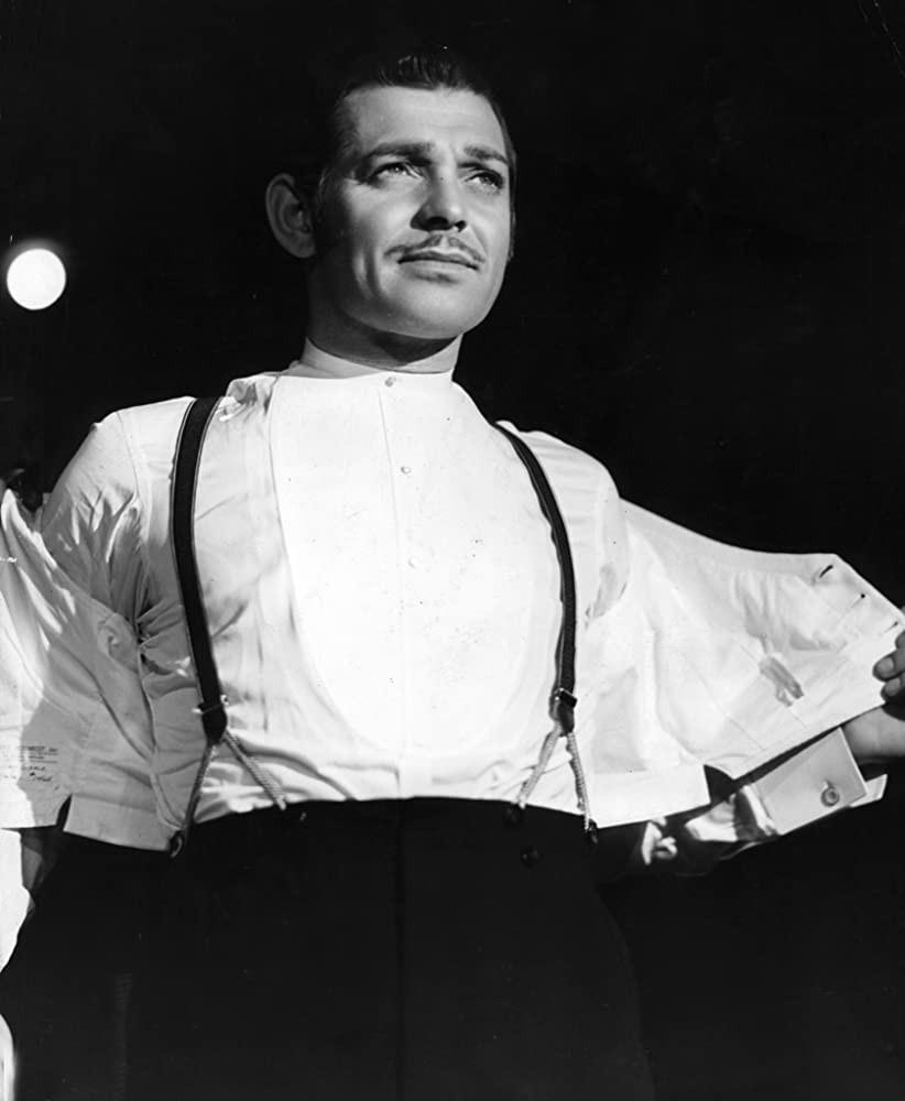 """Clark Gable in """"Parnell"""""""