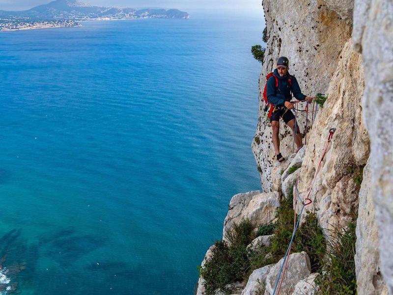 Climbing in Costa Blanca, Spain