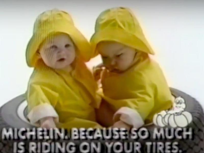 1986 Michelin Super Bowl commercial