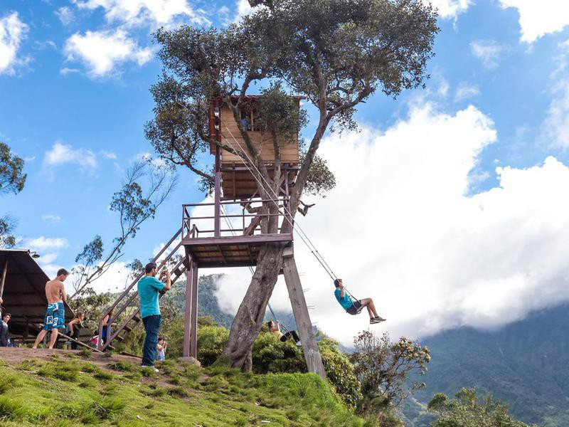 The Swing At The End Of The World, Ecuador