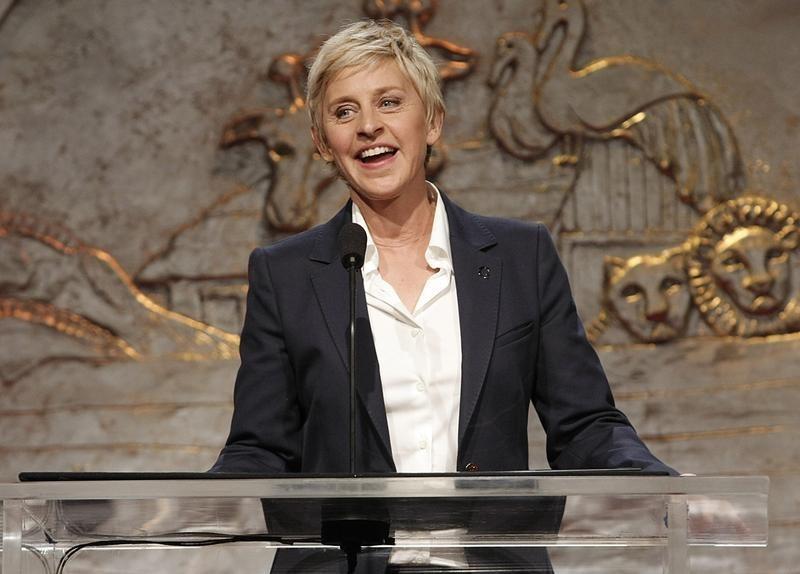 Ellen DeGeneres at the Genesis Awards