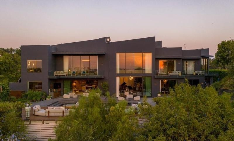 Chrissy Teigen and John Legend's house in Beverly Hills
