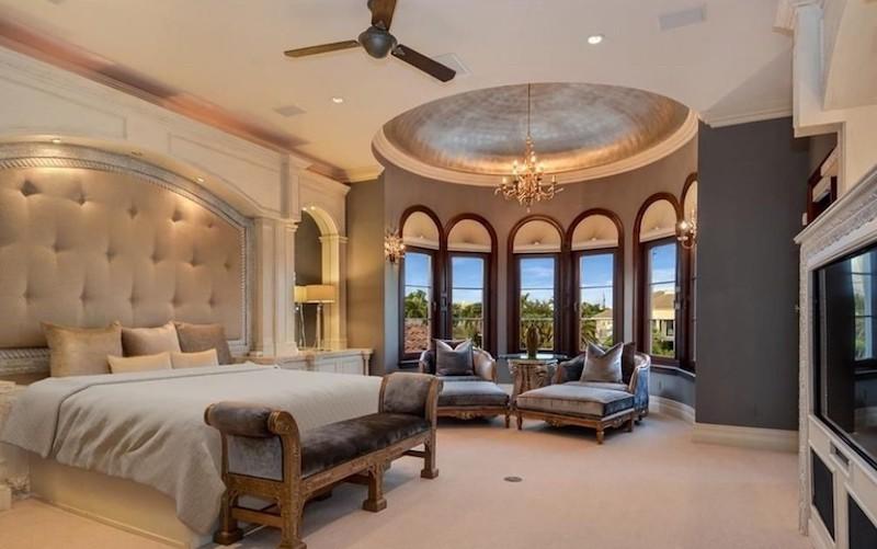 Scottie Pippen's bedroom