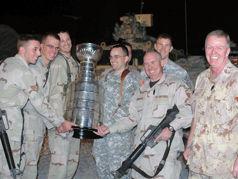 Stanley Cup in Afghanistan