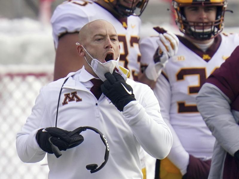 Minnesota coach P.J. Fleck