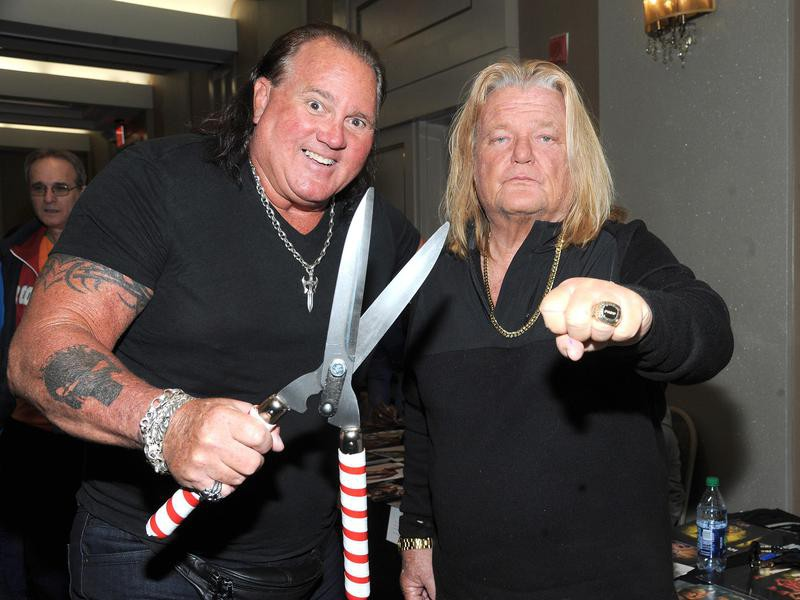 Brutus Beefcake and Greg Valentine