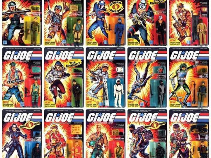 G.I. Joe action figures