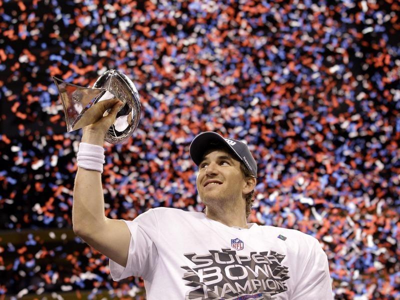 Eli Manning in Super Bowl XLVI