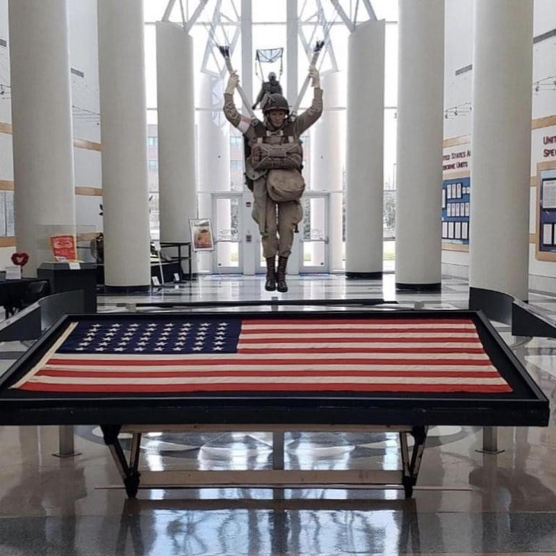 Airborne and Special Operations Museum exhibit