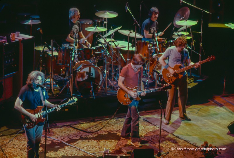 Grateful Dead at the Warfield