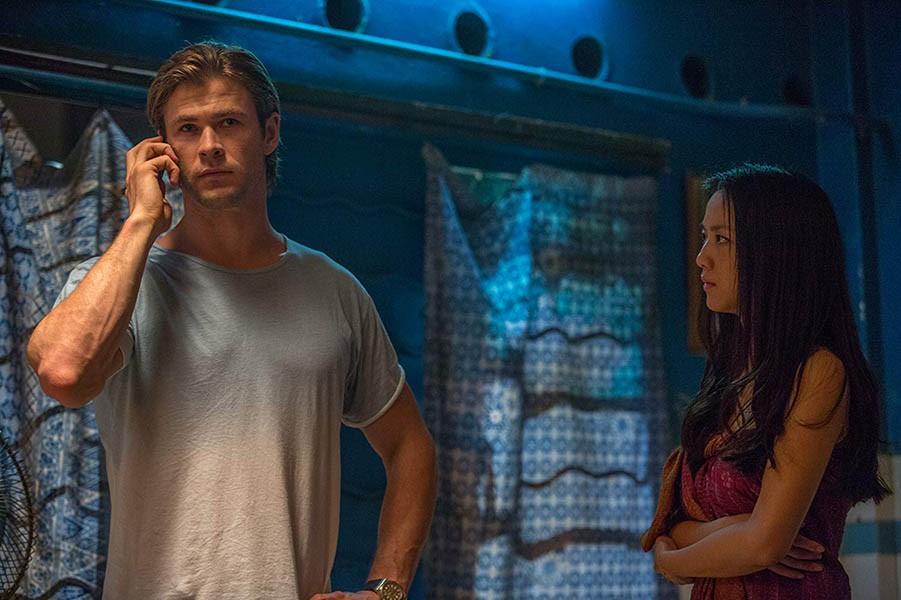 Chris Hemsworth and Wei Tang