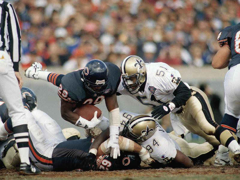 New Orleans Saints Linebacker Sam Mills