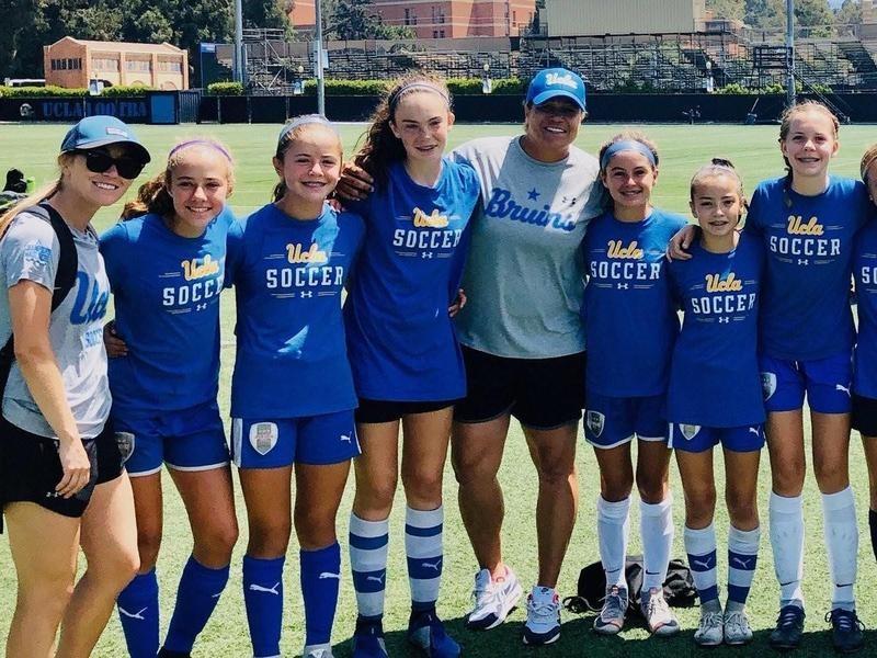UCLA assistant coach Saskia Webber