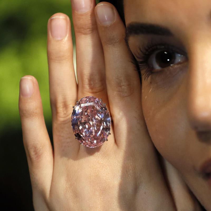 The Pink Star Diamond