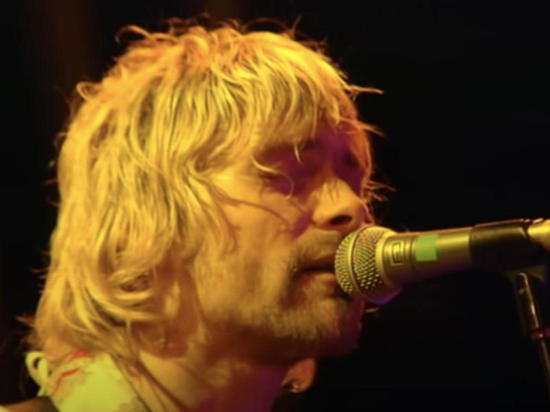 Nirvana at Reading Festival