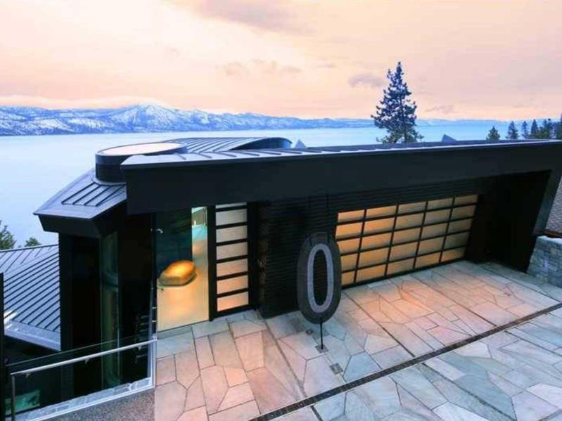 modern nevada ski house