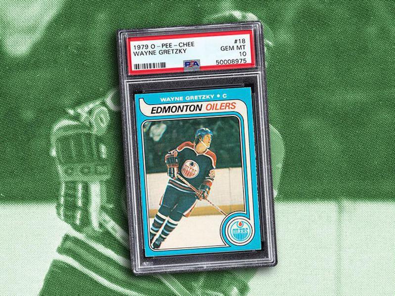 Wayne Gretzky 1979 O-Pee-Chee card