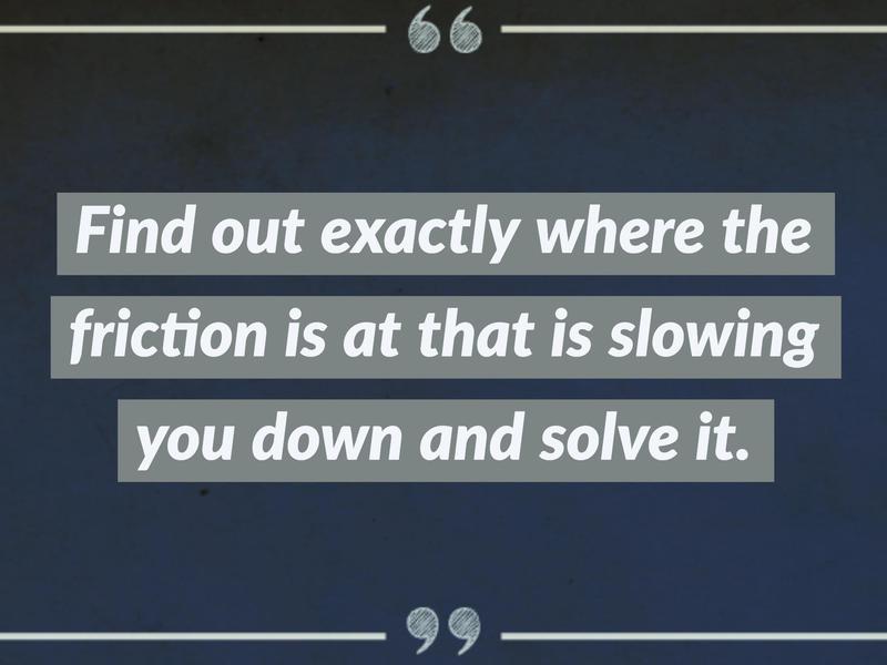 on friction