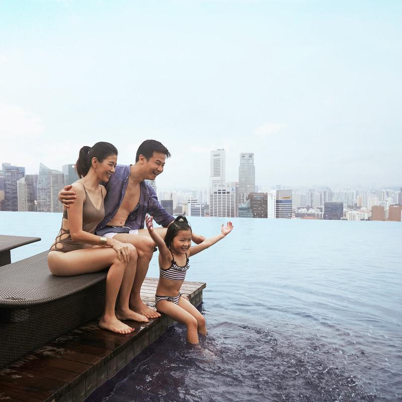 Marina Bay Sands Skypark Infinity Pool