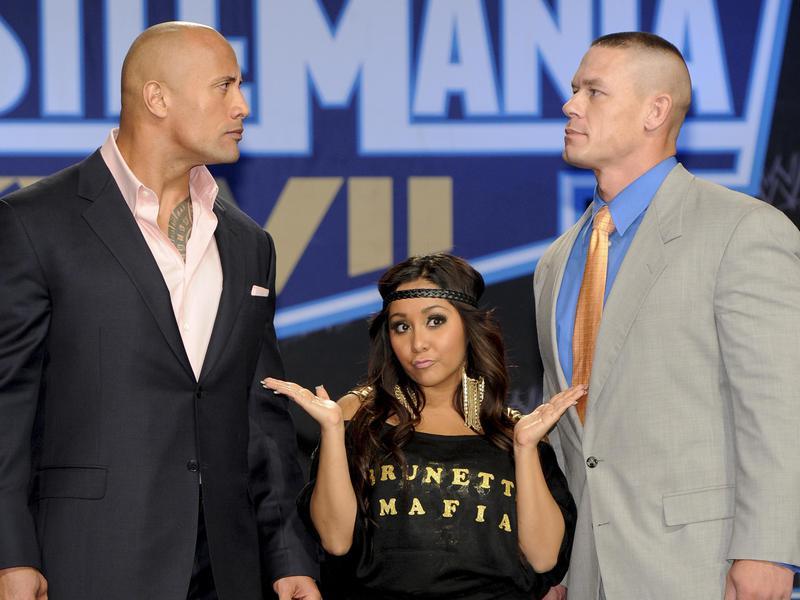The Rock and John Cena