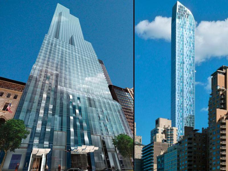 Luxury skyscrapper
