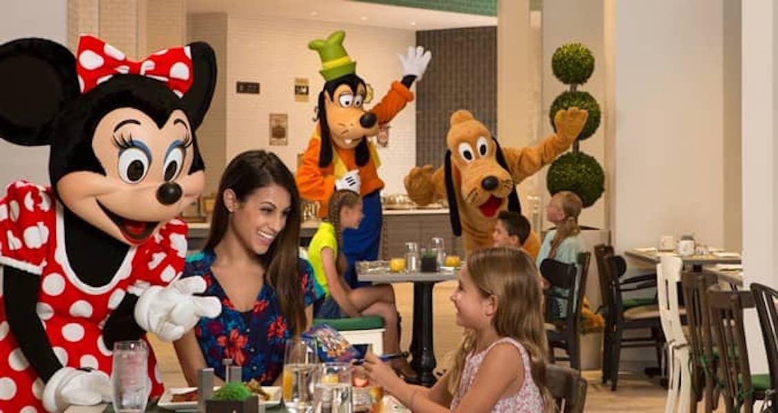 Hilton Orlando character breakfast