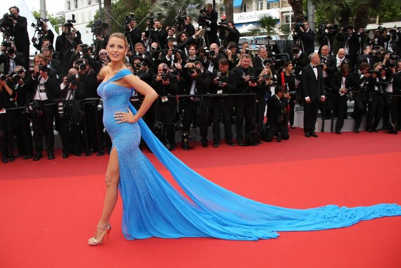 Blake Lively pregnancy style at The BFG film festival in Cannes