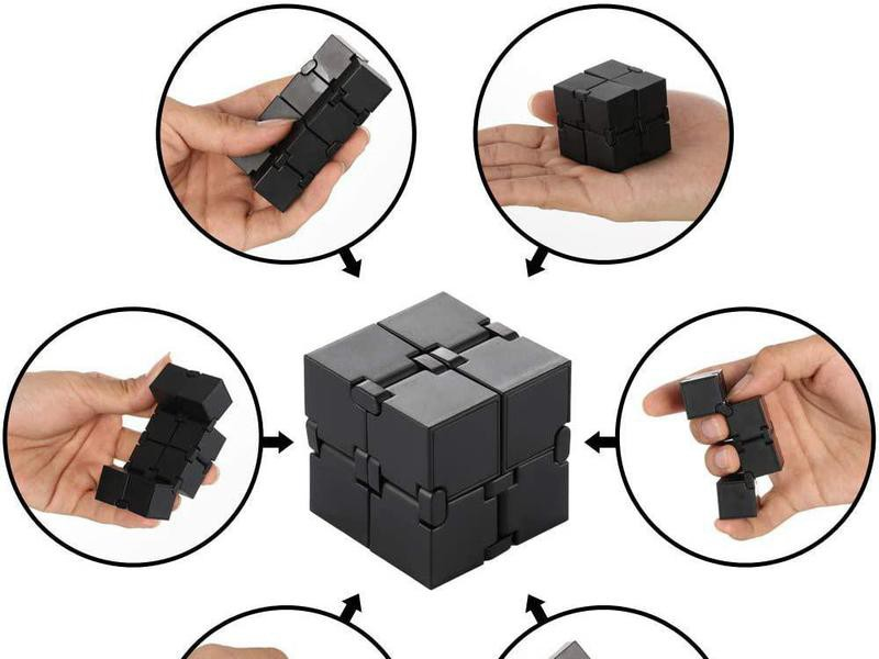 Infinity Cube Fidget Toy for Adults