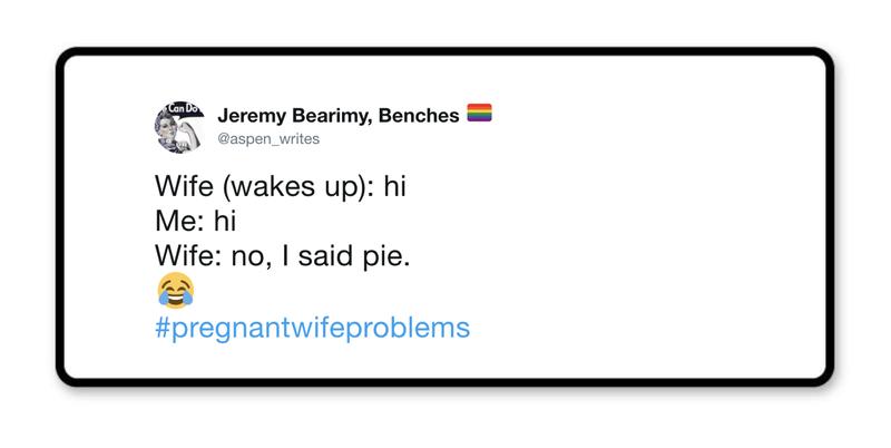 I said pie