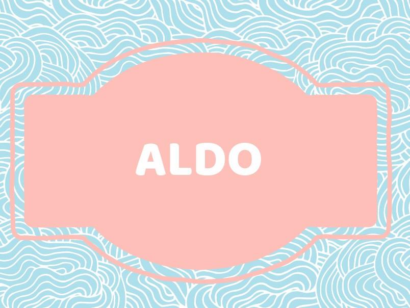 Unique Baby Boy Names: Aldo