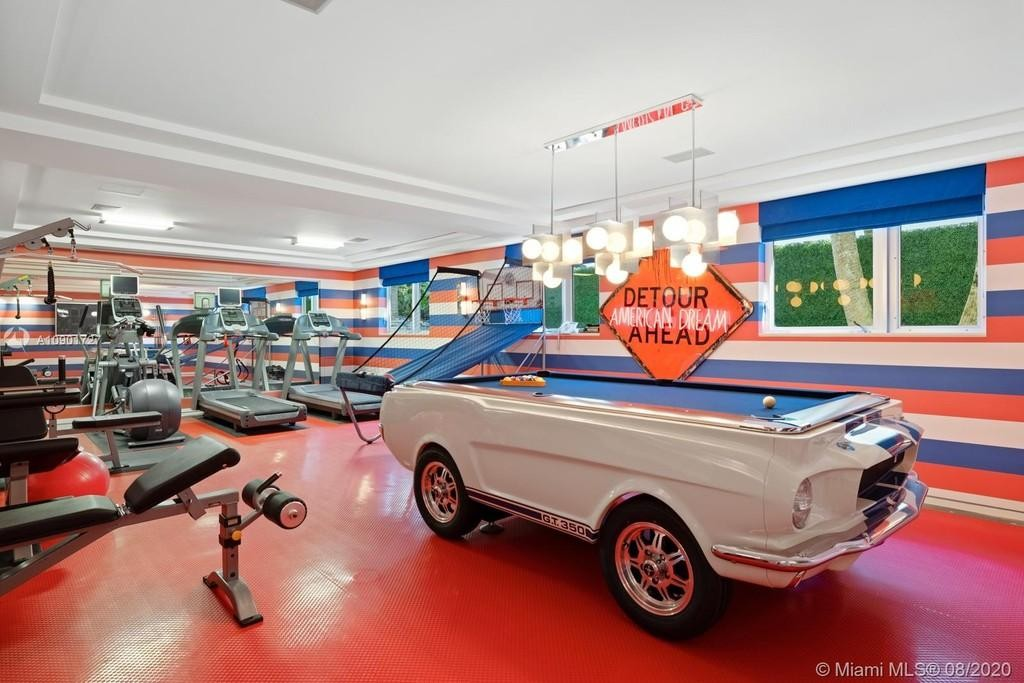 Tommy Hilfiger's gym