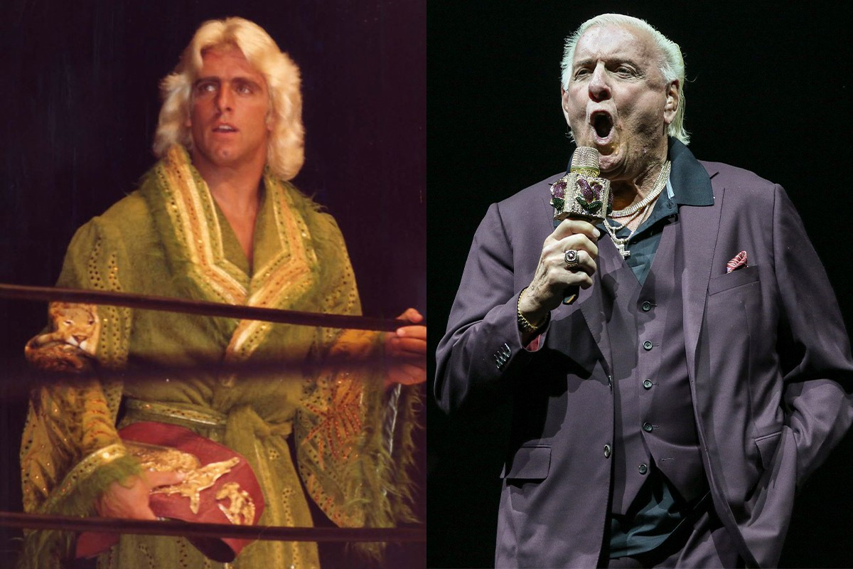 Ric Flair, Then and Now