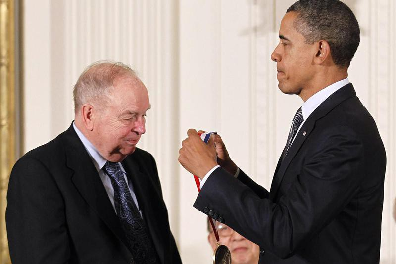 Barack Obama and Don Bateman