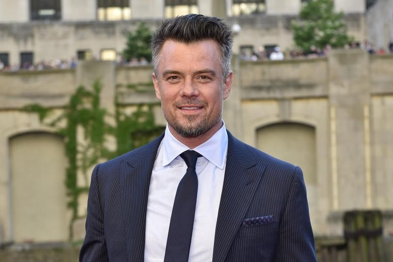Josh Duhamel at a movie premiere at Civic Opera House in Chicago