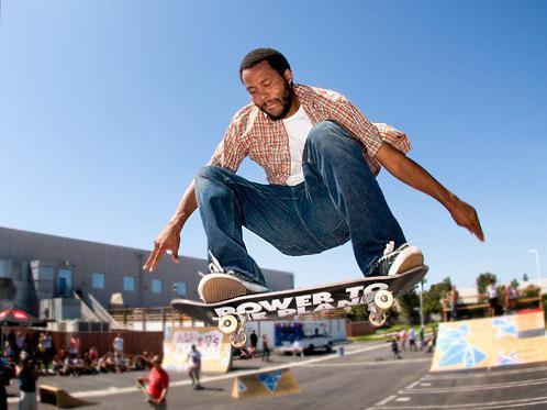 Ray Barbee skating