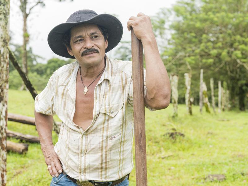 Farmer in Costa Rica