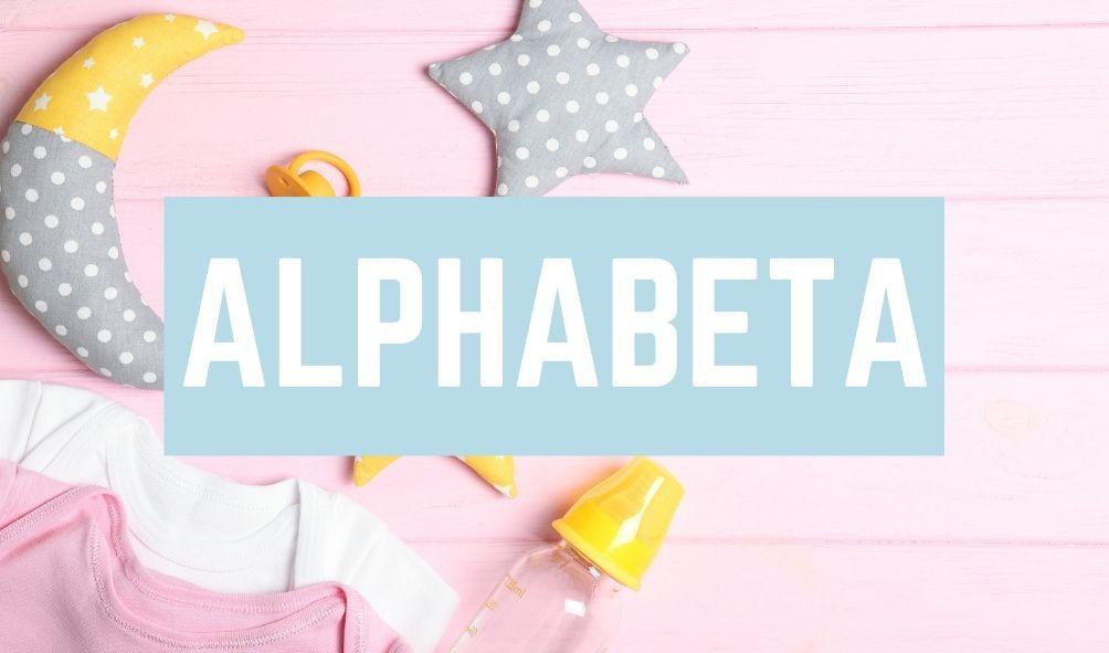 Terrible Baby Names: Alphabeta